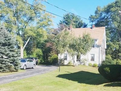 Milton, Quincy, Weymouth, East Bridgewater, Hanover, Hanson, Pembroke, West Bridgewater, Whitman Single Family Home For Sale: 491 Plymouth St