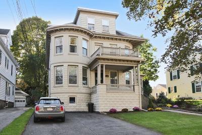 Newton Condo/Townhouse For Sale: 50 Arlington St #50