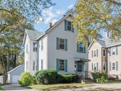 Newton Single Family Home For Sale: 23 Wetherell St