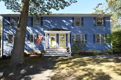 Hingham, Hull, Scituate, Norwell, Hanover, Marshfield, Pembroke, Duxbury, Kingston, Plympton Single Family Home New: 130 Stockbridge Rd #130