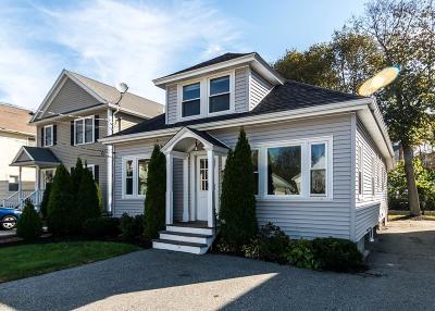 Waltham Single Family Home Under Agreement: 68 Bowdoin Avenue