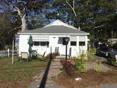 Wareham Single Family Home For Sale: 1 Columbia St