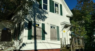 Brockton Single Family Home Under Agreement: 12 Fairmount Ave