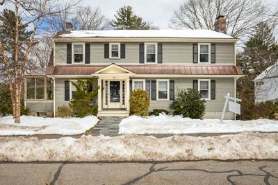 Wellesley Single Family Home For Sale: 98 Brook Street
