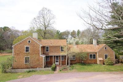 Duxbury Single Family Home For Sale: 809 A Mayflower St