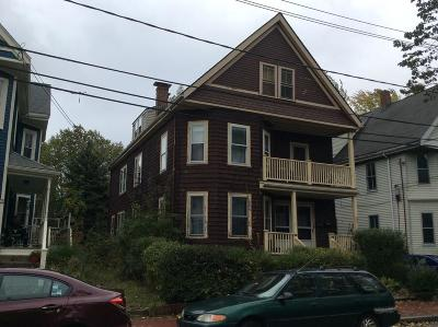 Cambridge Multi Family Home Under Agreement: 36-38 Creighton St