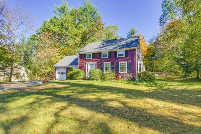 Wayland Single Family Home For Sale: 41 Davelin Rd