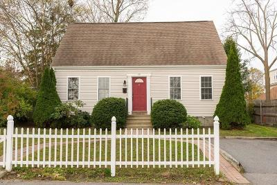 Whitman Single Family Home For Sale: 45 Central Street