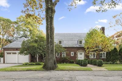 Brookline Single Family Home For Sale: 242 Woodland Rd
