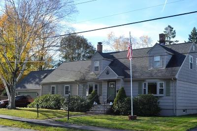 Dedham Single Family Home For Sale: 37 Tower St