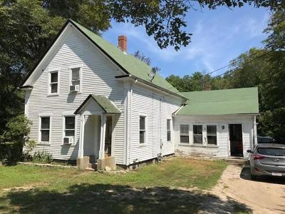 Middleboro Single Family Home For Sale: 569 Wareham St
