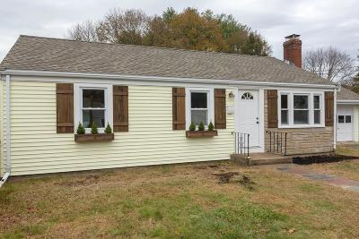 Weymouth Single Family Home Contingent: 14 Melody Ln