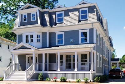 Brookline Single Family Home For Sale: 683 Hammond St #A