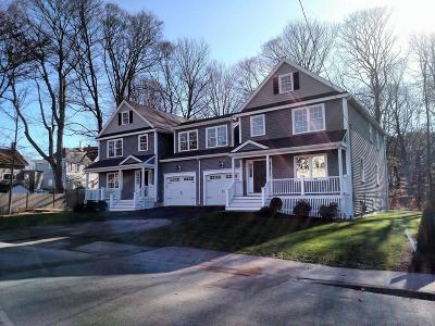 Natick Condo/Townhouse For Sale: 4 Fisher Street #4