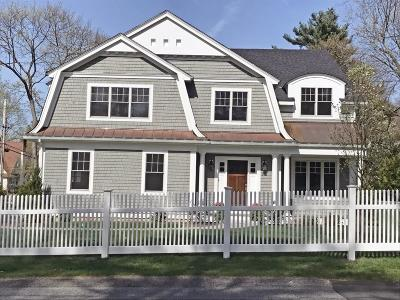 Wellesley Single Family Home For Sale: 90 Dover Rd