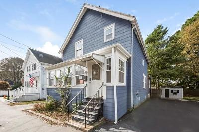Stoneham Single Family Home Sold: 55 Pine St