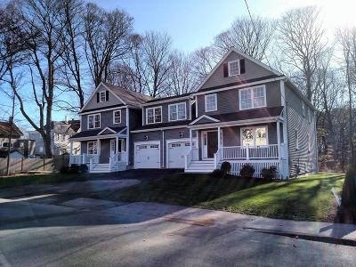 Natick Single Family Home For Sale: 4 Fisher Street #4
