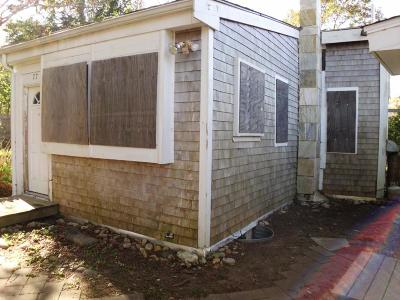 Barnstable Single Family Home Under Agreement: 77 Woodland Avenue