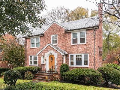 Brookline MA Single Family Home For Sale: $2,500,000