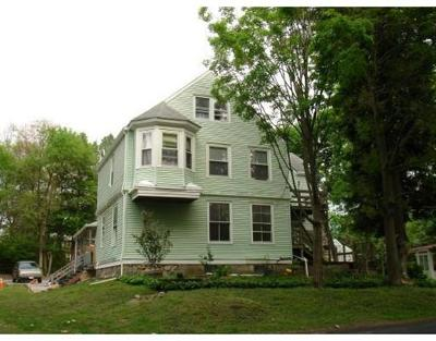 Foxboro Rental For Rent: 11 Maple Place #2nd Floo