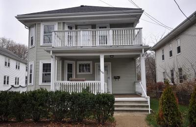 Arlington MA Single Family Home For Sale: $789,000