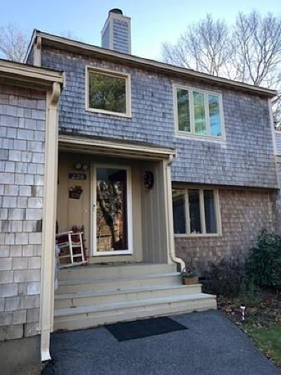 Falmouth Condo/Townhouse For Sale: 228 Southwest Mdws #228