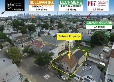 Somerville Multi Family Home Extended: 134 Pearl Street