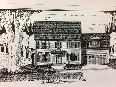 Milford Single Family Home Under Agreement: Lot 19 Field Pond