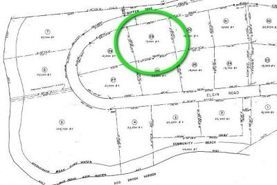 Bourne Residential Lots & Land Contingent: 98 Elgin Rd