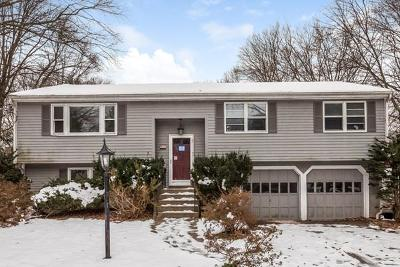 Holliston Single Family Home Under Agreement: 61 Dodd Dr