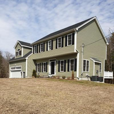 Holliston Single Family Home For Sale: 660 Mayflower Landing