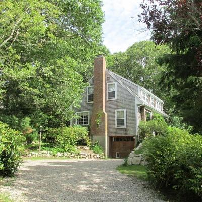 Falmouth Single Family Home New: 280 Sippewissett Rd