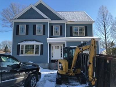 Dedham Single Family Home New: 34 Hamilton Ave.