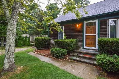 Single Family Home For Sale: 842 West Falmouth Highway