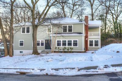 Wellesley MA Single Family Home For Sale: $1,699,000