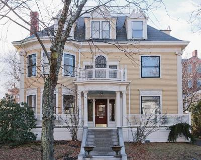 Cambridge MA Single Family Home Under Agreement: $1,795,000