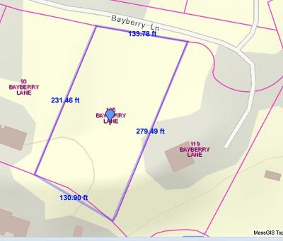 Barnstable Residential Lots & Land Under Agreement