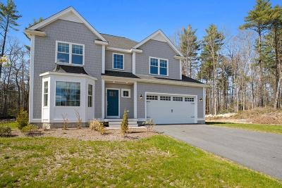 Hingham, Hull, Scituate, Norwell, Hanover, Marshfield, Pembroke, Duxbury, Kingston, Plympton Single Family Home For Sale: 25 Hillcrest Circle #Lot10