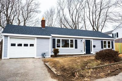 Braintree Single Family Home Contingent: 9 Pine Crest Rd