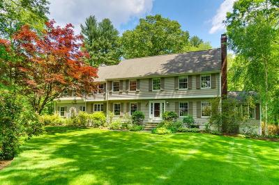 Wellesley Single Family Home For Sale: 179 Winding River Road