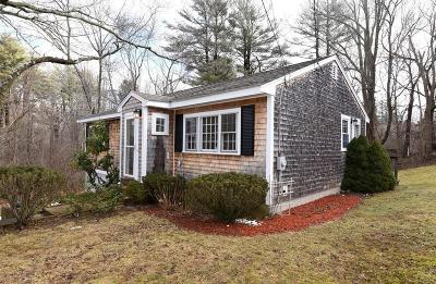 Hingham Single Family Home Contingent: 5 Knoll Road