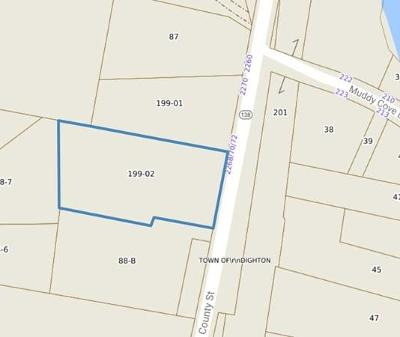 Residential Lots & Land For Sale: County Street