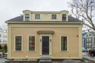 Cambridge MA Single Family Home Under Agreement: $1,685,000