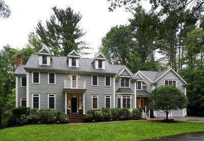Wellesley MA Single Family Home For Sale: $2,275,000