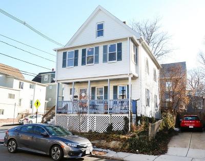 Somerville Single Family Home Under Agreement: 94 Albion Street