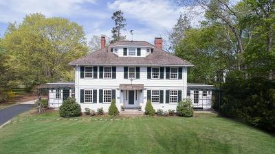 Hingham, Hull, Scituate, Norwell, Hanover, Marshfield, Pembroke, Duxbury, Kingston, Plympton Single Family Home For Sale: 16 Miles Rd