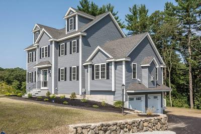 Billerica Single Family Home Under Agreement: 19 Fieldstone Lane
