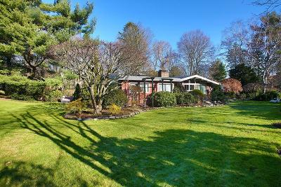 Brookline MA Single Family Home For Sale: $2,650,000