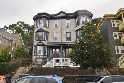 MA-Suffolk County Multi Family Home For Sale: 106-108 Hyde Park Ave
