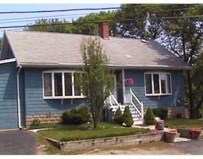 Saugus MA Single Family Home For Sale: $329,000
